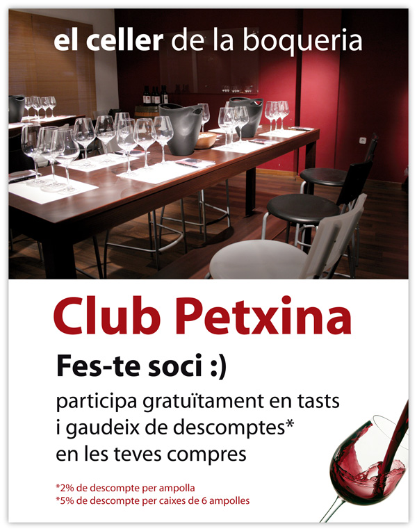 Cartel Club Petxina